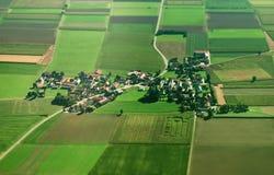 Ackerland in Deutschland Lizenzfreie Stockbilder