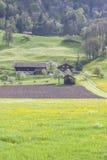 Ackerland - die Schweiz Lizenzfreie Stockfotos