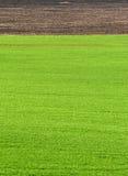 Ackerland, gepflogenes Feld am Frühling, Landschaft, landwirtschaftlich, Felder Lizenzfreie Stockfotografie