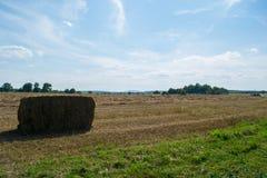Ackerland in Gettysburg, Pennsylvania an einem Sommer-Tag Stockbild