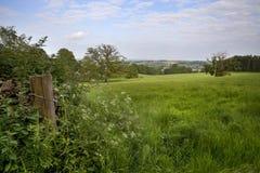 Ackerland, Gloucestershire Lizenzfreie Stockbilder