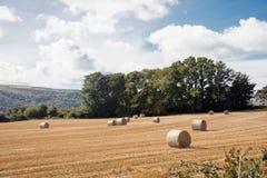 Ackerland Isle of Man Lizenzfreies Stockfoto
