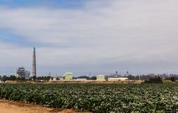 Ackerland - Moss Landing California Stockfotografie