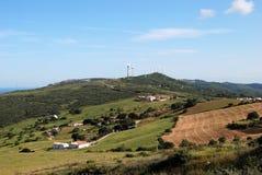 Ackerland nahe Casares, Spanien. Lizenzfreies Stockfoto