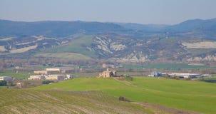 Ackerland nahe Orvieto Italien Stockfoto