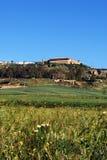 Ackerland, Carmona, Andalusien. Lizenzfreie Stockbilder