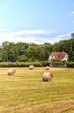 Ackerland in Schweden Lizenzfreie Stockfotos