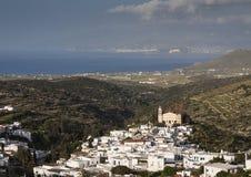 Ackerland und Landschaft in Marmara Lizenzfreie Stockbilder