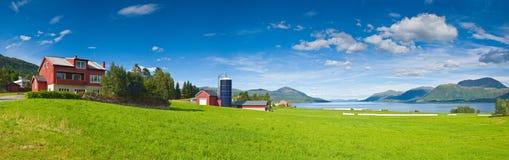 Ackerland und Landwirtschaft Stockfoto