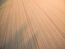 Ackerland von oben genanntem - Luftbild Stockfoto