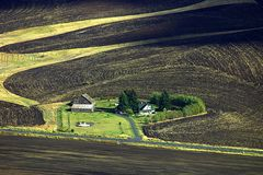 Ackerland von Palouse Lizenzfreies Stockfoto