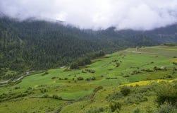 Ackerland von Zhagana Stockbild
