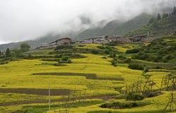 Ackerland von Zhagana Stockfoto