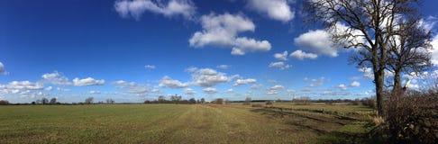 Ackerland - Yorkshire - Vereinigtes Königreich Lizenzfreie Stockbilder