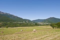 Ackerlande von Arresa, Spanien Lizenzfreies Stockfoto