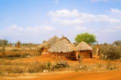 Ackerlandlandschaft in Äthiopien Lizenzfreie Stockfotografie