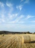 Ackerlandlandschaft Lizenzfreie Stockbilder