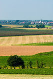 Ackerlandlandschaft Lizenzfreies Stockfoto