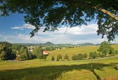 Ackerlandlandschaft Lizenzfreie Stockfotos