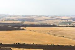 Ackerlandlandschaft in Basilikata, Italien Lizenzfreie Stockfotografie