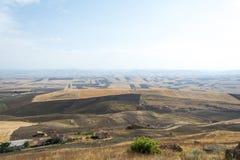 Ackerlandlandschaft in Basilikata, Italien Lizenzfreie Stockfotos
