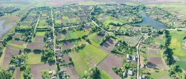 Ackerlandpanorama Stockbilder