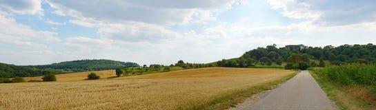 Ackerlandpanorama Lizenzfreie Stockbilder