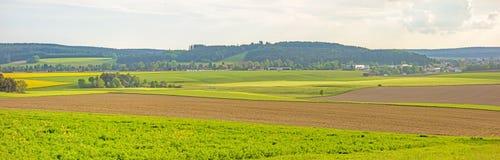 Ackerlandpanorama Stockfotos