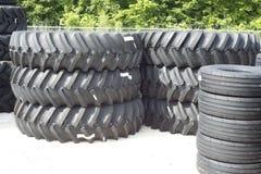 Ackerschlepper-Reifen Stockbilder