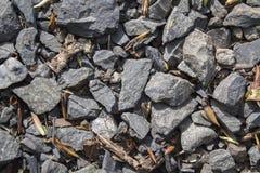Ackumulationen av stenar Royaltyfria Foton