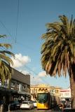 Acland street. Saint Kilda. Stock Photo