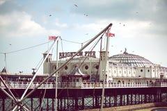 Aclare el embarcadero Foto de archivo libre de regalías