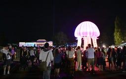 Aclare el festival en Canberra imágenes de archivo libres de regalías