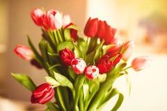 Aclare encima de su día con las flores imagen de archivo libre de regalías
