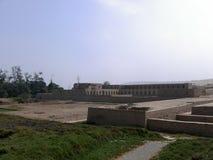 Acllawasi-Tempel in Pachacamac, südlich von Lima Lizenzfreie Stockfotos