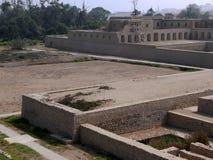Acllawasi-Tempel in Pachacamac, südlich von Lima Stockbilder