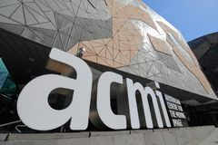 ACMI Federation Square Melbourne Australia stock photos