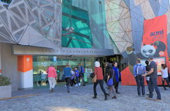 ACMI Federation Square Melbourne Royalty Free Stock Photos