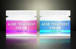 Acne cream. Royalty Free Stock Photos