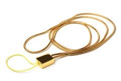 Acollador de la correa para el cuello para el teléfono celular Fotografía de archivo libre de regalías