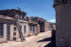 Acoma Pueblo. Image shows part of the Acoma Pueblo which is a Native American pueblo approximately 60 miles west of Albuquerque, New Mexico in the United States Royalty Free Stock Photos