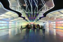 Acometida del aeropuerto Fotos de archivo