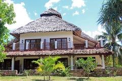 Acomodação do recurso de Zanzibar Fotos de Stock