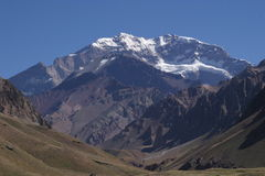 Aconcagua Fotos de Stock Royalty Free