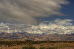 aconcagua Cordillera blisko Fotografia Stock