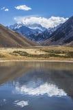 Aconcagua, in den Anden-Bergen in Mendoza, Argentinien. Stockfotos