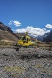 Aconcagua, in den Anden-Bergen in Mendoza, Argentinien Stockfoto