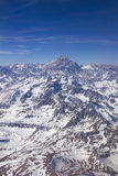 Aconcagua Góra, Andes Fotografia Royalty Free
