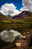 Aconcagua. The highest mountain in the Americas at 6.960.8 metres Royalty Free Stock Image