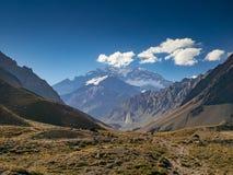 Aconcagua i Evengingen Royaltyfri Foto